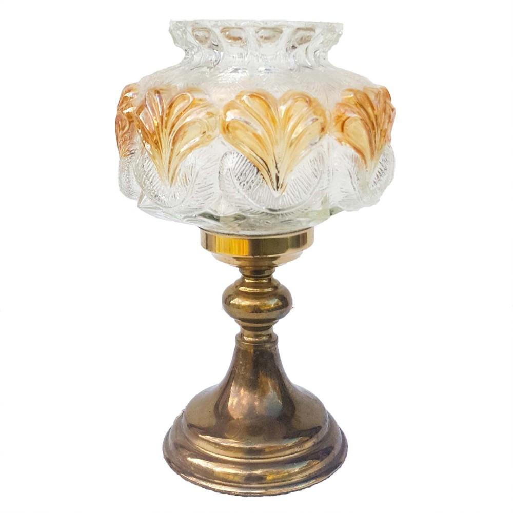 Avansert Lampe med glasskuppel | Vintage | Industriell | Rustikk | Urban QK-83